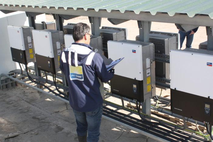Inspectie PV systeem